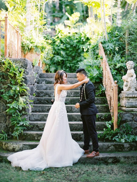 Maui Wedding photo at Haiku Mill Wedding venue