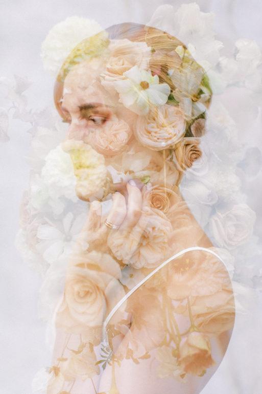SLO bridal editorial photo